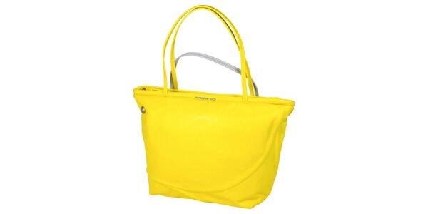 Svietivo žltá kabelka Mandarina Duck