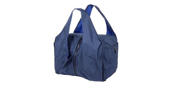 Dámska modrá taška do ruky Mandarina Duck