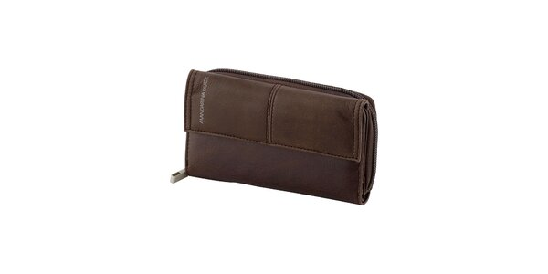 Hnedá dlhá peňaženka Mandarina Duck