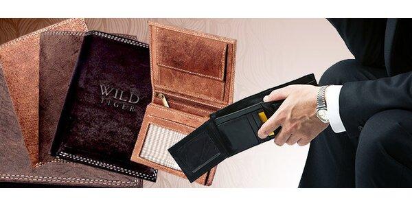 Kožené peňaženky Wild Tiger