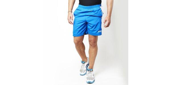 Pánske modré bežecké kraťasy Asics
