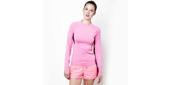 Dámske ružové športové tričko Asics