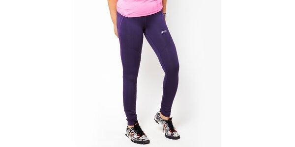 Dámske fialové športové legíny Asics