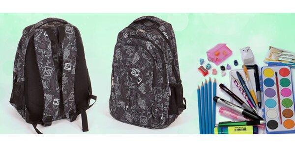 Školský batoh so školskými potrebami