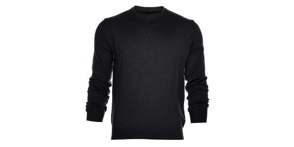 Pánsky antracitový sveter Calvin Klein