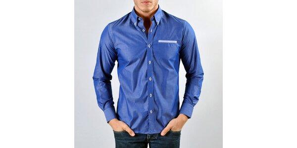 Pánska tmavo modrá košeľa Marcel Massimo