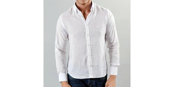Pánska ľahká biela košeľa Marcel Massimo