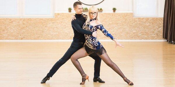 Tanečné kurzy: svadobné, klasické i latinsko-americké