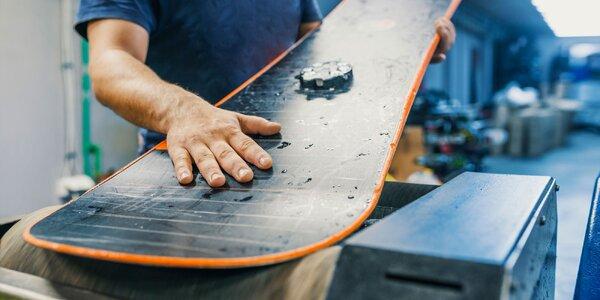 Profesionálny servis a brúsenie lyží aj snowboardov