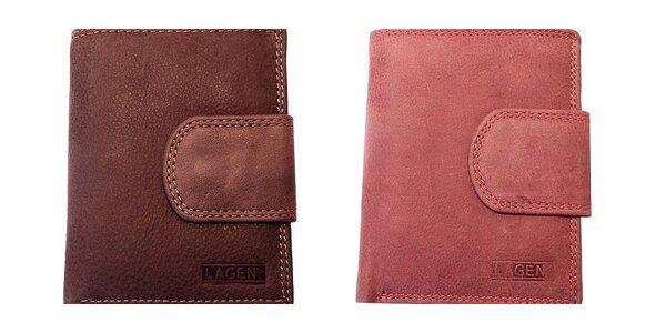 Značkové kožené peňaženky Lagen! Darčeková krabička a doprava zdarma!