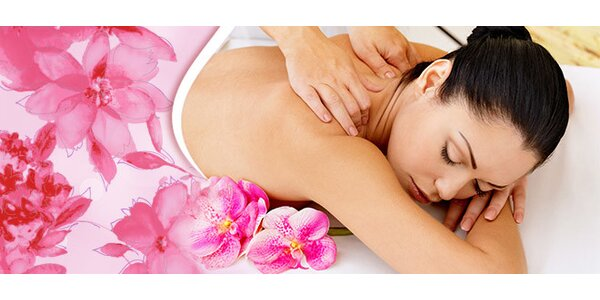 Relaxačná masáž chrbta a šije