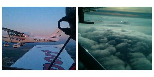 Zážitkový let alebo pilotovanie na skúšku