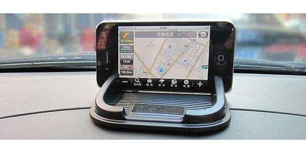 Protišmyková podložka s držiakom na GPS