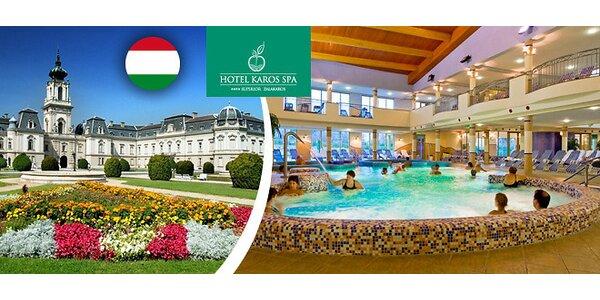 Relax v maďarských termáloch. Dieťa zdarma!