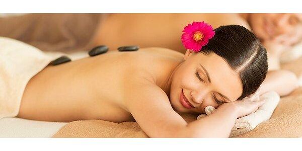 Monoi terapia - masáž tela s lávovými kameňmi a polynézskym vonným olejom