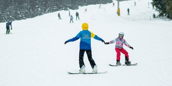 Privátna lekcia lyžovania alebo snowboardingu v Roháčoch alebo Zuberci