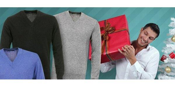 35 eur za luxusný sveter Romeo Gigli.