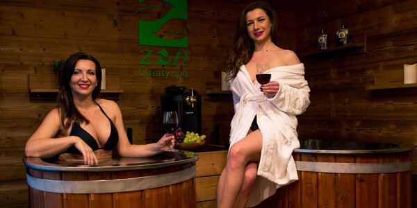 Relax v pivných a vínnych kúpeľoch ZEN Beauty Spa