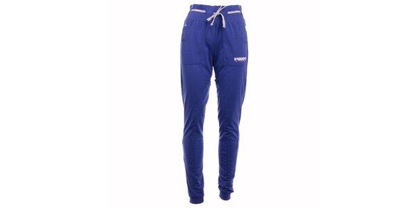 Dámske modré športové nohavice Freddy