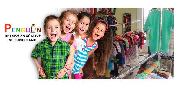 Detské oblečenie za polovičnú cenu
