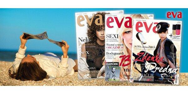 Štvrťročné predplatné časopisu EVA