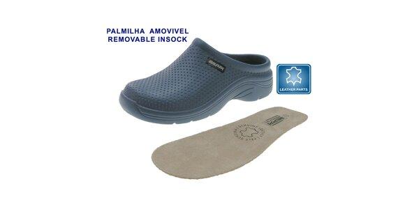Dámske petrolejovo modré topánky Beppi s vyberateľnou stielkou