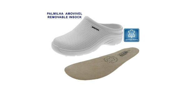 Dámske biele topánky Beppi s vyberateľnou stielkou