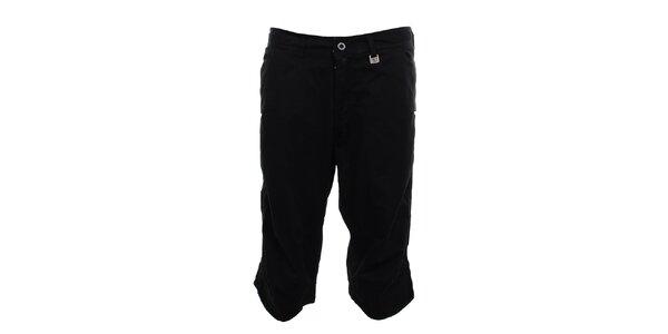 Pánske čierne 3/4 nohavice Exe Jeans