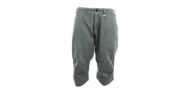 Pánske šedé 3/4 nohavice Exe Jeans
