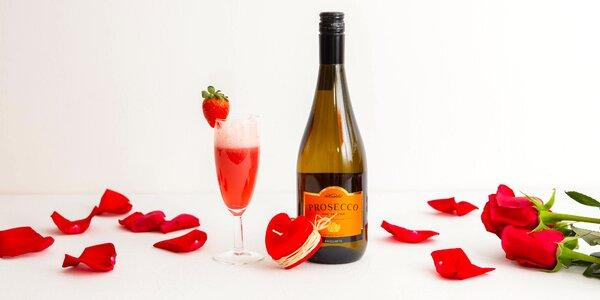 Romantické darčekové alko boxy s prekvapením