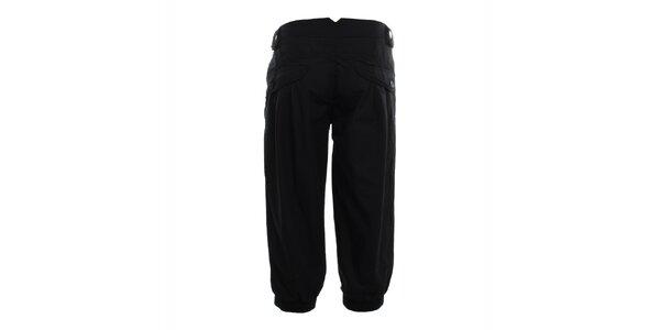 Dámske čierne capri nohavice Exe Jeans