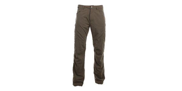 Pánske hnedé voľno časové nohavice Hannah