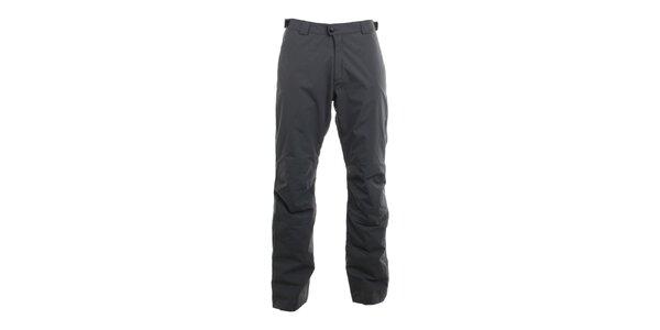 Pánske grafitovo šedé nepremokavé nohavice Hannah