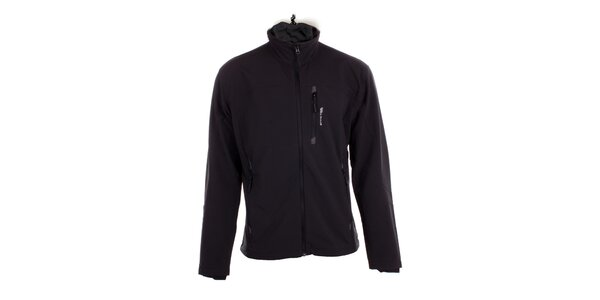 Pánska čierna softshellová bunda Hannah