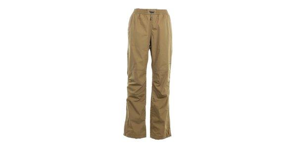 Pánske pieskovo hnedé nohavice do gumy Hannah