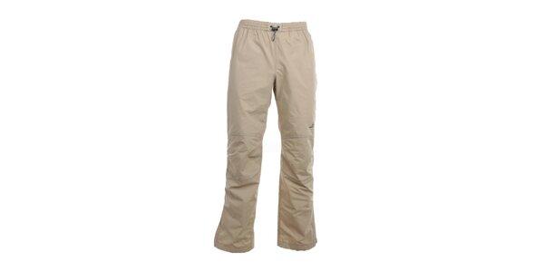 Pánske béžové nohavice do gumy Hannah