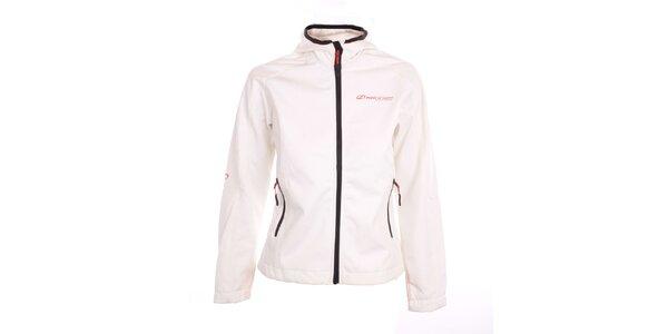 Dámska bielo-šedá softshellová bunda Hannah