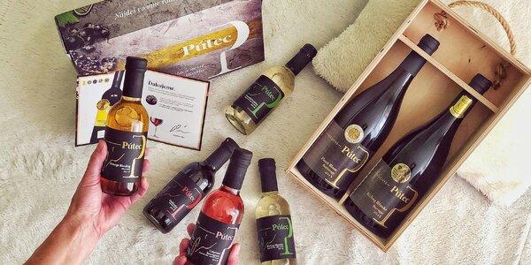 Degustačné balíčky oceňovaných slovenských vín