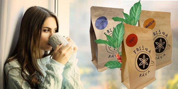 Degustačný set výberových káv z celého sveta