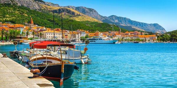 Leto na Makarskej: 4* hotel na pláži s raňajkami