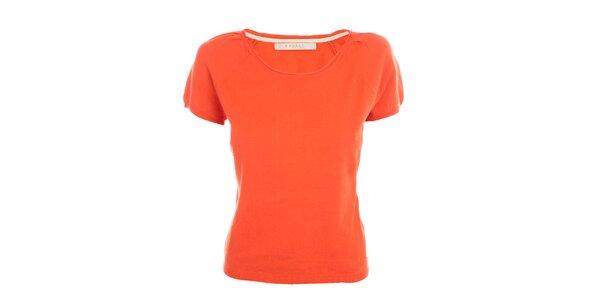 Dámske korálovo červené tričko Nougat London