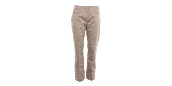 Dámske béžové nohavice s pukmi Nougat London