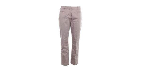 Dámske šedo-béžové nohavice s pukmi Nougat London