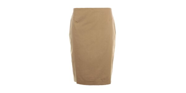 Dámska béžová púzdrová sukňa Nougat London