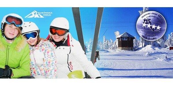 9,90 eur za celodenný skipas do lyžiarskeho strediska SKI PARK Kubínska hoľa