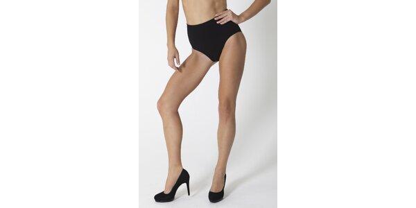 Dámske čierne sťahovacie nohavičky My Shapes s aloe