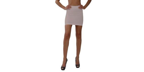 Dámska pudrová sťahovacia sukňa My Shapes