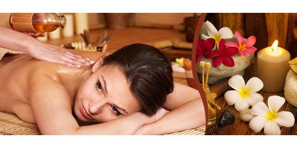60 min. thajská aroma masáž