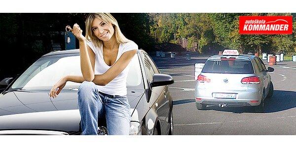 Kondičná jazda v autoškole Kommander