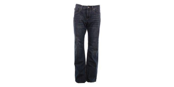 Pánske šedo-modré džínsy Exe Jeans